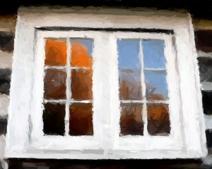 window painted